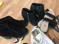 9 pairs shoes good condition