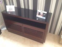 Bell'O Premium Wood TV Cabinet, Display Unit at Half Price - New, Free Delivery