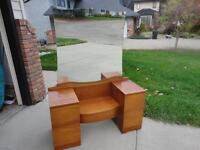 Delivery Included If Needed Antique Mahogany Vanity Dresser