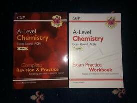 CGP CHEMISTRY A LEVEL WORKBOOKS
