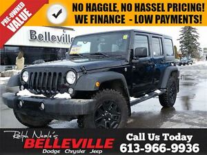 2016 Jeep WRANGLER UNLIMITED Willys Wheeler-Trailer tow Group-Bl