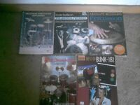 Drums and percussion music books