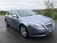 2009 VAUXHALL INSIGNIA EXCLUSIV 130 CDTI SILVER