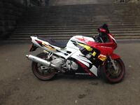 GRAB A BARGAIN- now at a Reduced price Honda CBR 600F