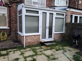 Garage and Conservatory for sale, SEPARATE COSTS in description