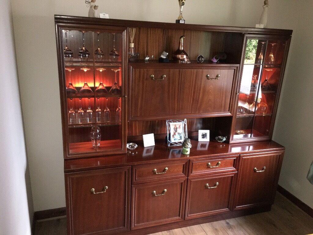 Urgent Welsh Dresser Sideboard Drinks Display Cabinet