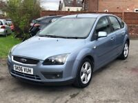 2006 FORD FOCUS 1.6 ZETEC CLIMATE, 100K MILES, MOT TILL JAN 2019, BEAUTIFUL DRIVE, IDEAL FAMILY CAR