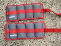 Pair of Weider Wrist and Ankle Weights - Each Weight One Kilogram: £5.00 for the Pair