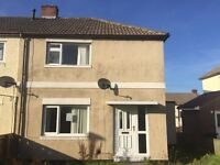 Recenty decorated three bedroomed house in Stanley NO BOND DSS WELCOME