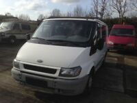 VERY CLEAN LEFT HAND DRIVE FORD TRANSIT VAN,RUNS EXCELLENTLY,ENGINE AND MECHANICS IN ORDER,BIG SPACE