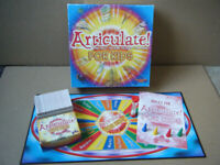 ARTICULATE FOR KIDS, Description board game. By Drumond Park 2006. Complete.
