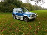 4x4 Suzki Vitara 2000 reg ideal for off road or the winter ,px welcome