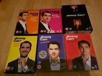 Jimmy Carr dvd collection
