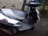 honda sfx 50cc with 70cc big bore kit fitted mot sept starts first time