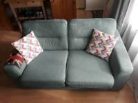 Two seater anti-stain sofa