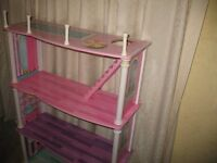 Dolls House / Childs Bedroom Shelving/Display