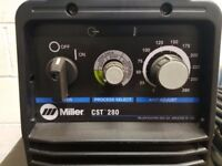 Miller TIG/MMA Welder CST 280- as new