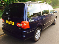 Volkswagen Sharan 1.9 SE TDi 115 Auto 7 Seater With Genuine 79,535 Miles & Full Service History