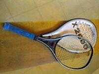 3 no. Tennis Rackets 2 x Dunlop and 1 x Continental