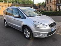 FORD GALAXY ZETEC 2012 2.0 TDCI Automatic 7 SEATER ONLY £4996 silver