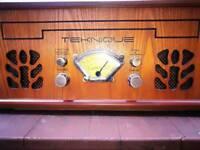 TEKNIQUE record/CD/tape/radio player