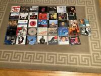 37 Music CDs (hip hop, indie, Rock, dance, reggae pop)