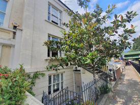 Stunning 3 bed duplex flat with private garden available now