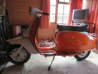 Lambretta Li150 resorted all new paint ,cables tyres