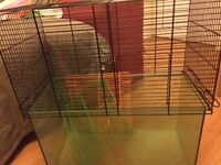 Gerbil cage small animal cage