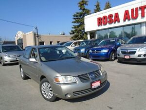 2006 Nissan Sentra VERY LOW KM  NO ACCIDENTS LOCAL ON NO RUST
