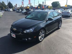 2012 CHEVROLET CRUZE LT TURBO- ALLOY WHEELS, SATELLITE RADIO, ON