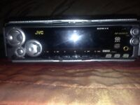 JVC car stereo with aux input. Model kd-sx992r