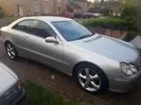 Mercedes clk 250 £2.150