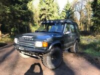 Land Rover 300tdi fully kitted out off/on road ready