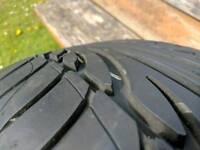 Dunlop sp sport 9000 235/55/17 tyre