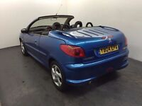 2004 │Peugeot 206cc │ 1.6 Petrol Automatic │ Leather │ 10 Months MOT │ Bargain Auto Car