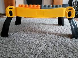 Megabloks table foldaway