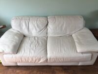 Leather sofa available for free pick up.
