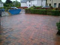driveway paving and astro turf sale now on. gardener landscaper