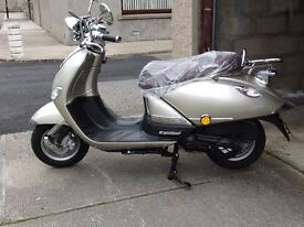As new mint condition 400 summer miles 9 months old selling as i have bought a bigger scooter