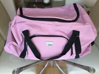 NEXT Pink Hold-All Trolley Suitcase