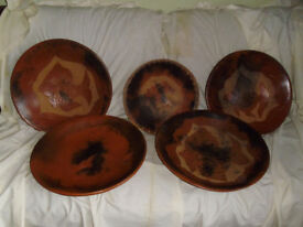 Large clay bowls from Indonesia,