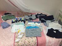 Baby boys clothes 0-3 bundle