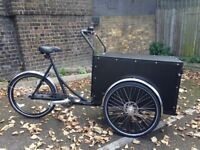 Christiania Cargo Bike- upgraded with accessories