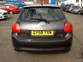 FREE DELIVERY *** 2008 TOYOTA AURIS T3 D-D4 2.0L DIESEL *** FREE DELIVERY