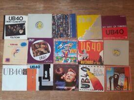 15 x ub40 12 inch singles