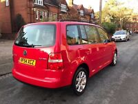 Volkswagen touran 2.0 TDI 6 speed 7 seater