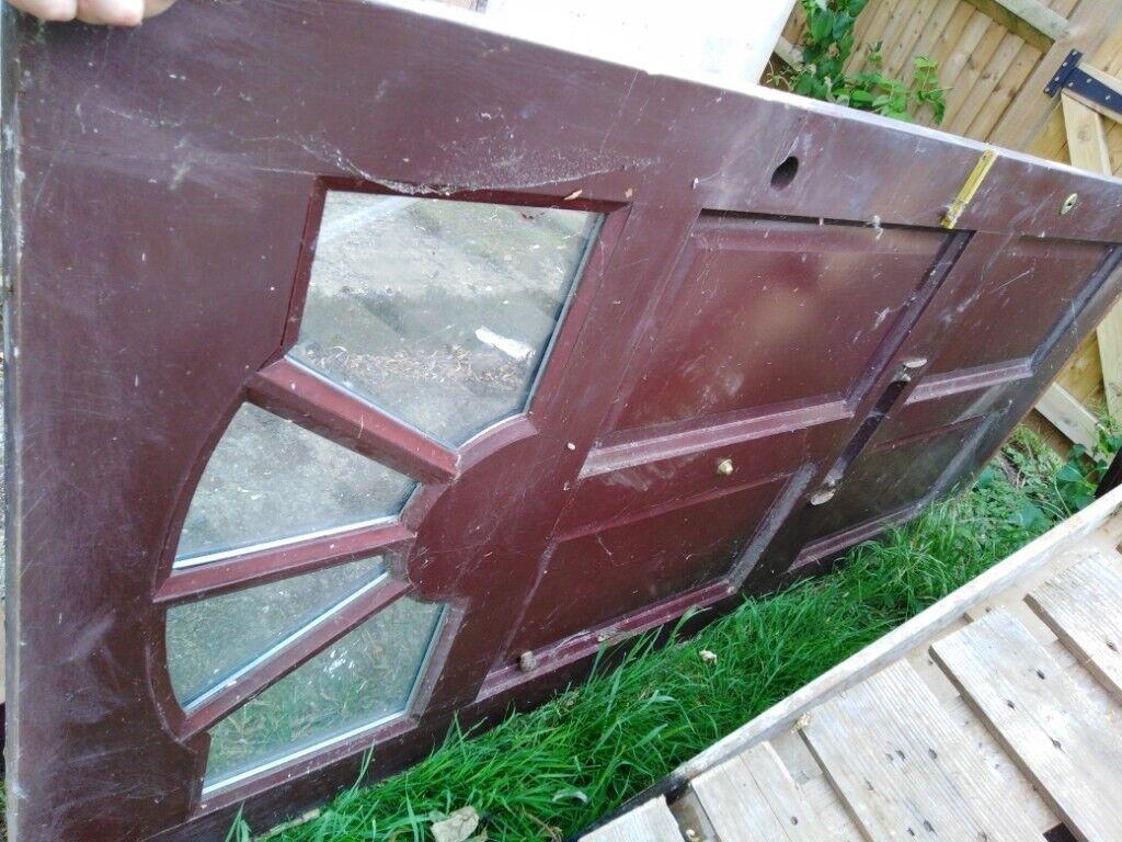 Old Solid Wood Front Door In Aylesbury Buckinghamshire Gumtree