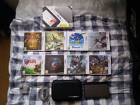 Nintendo 3DS XL Boxed with Games & Charger