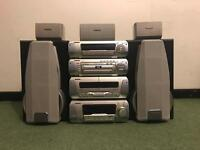 Technics DV250 Surround Sound Home Cinema System